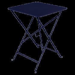 Wetterfester, klappbarer Tisch Bistro von Fermob in Abyssblau