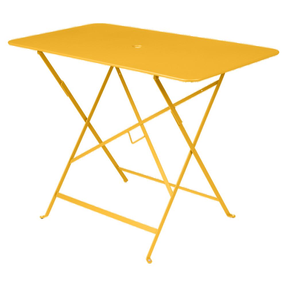 Wetterfester Tisch Bistro in 97cm x 57cm von Fermob in Honig