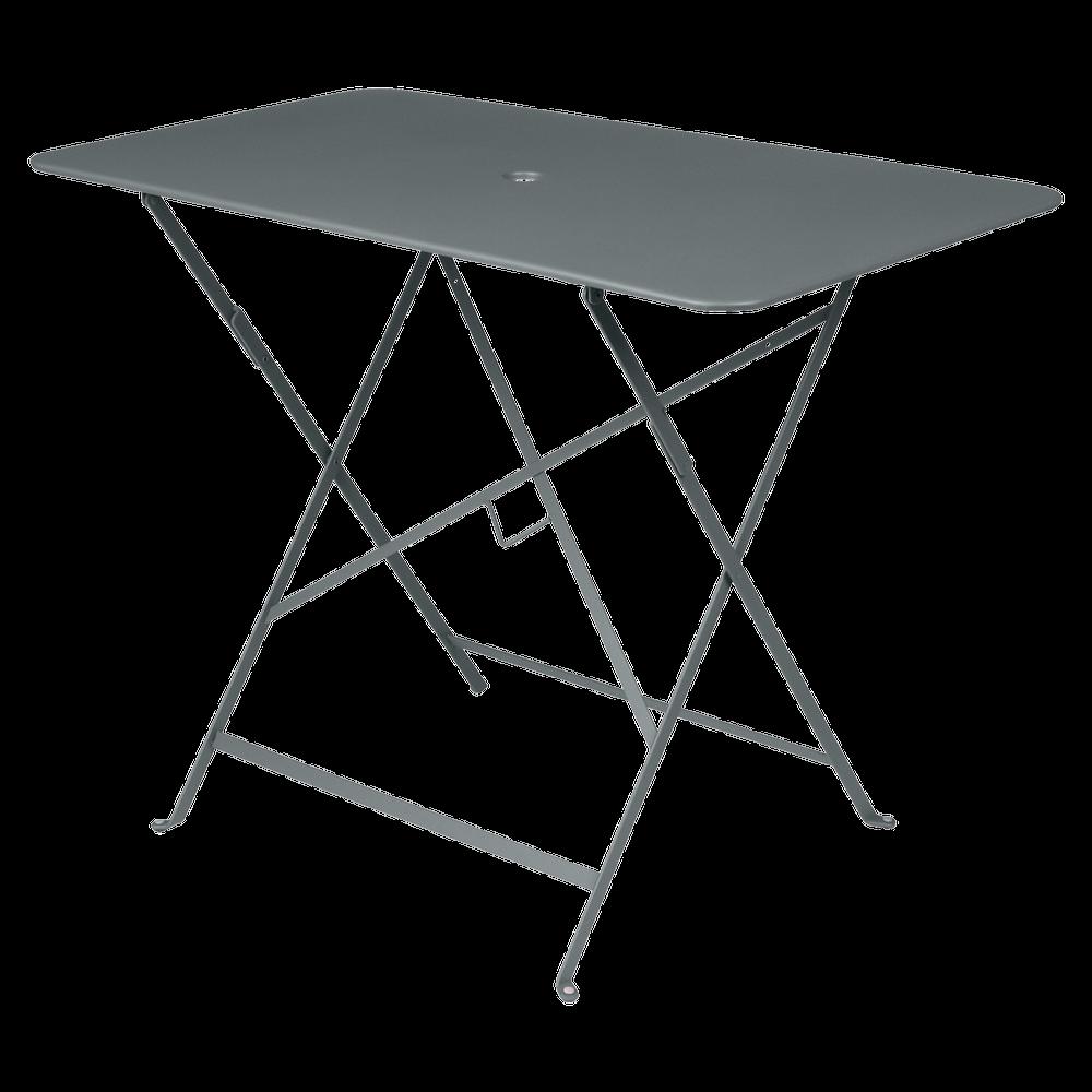Wetterfester Tisch Bistro in 97cm x 57cm von Fermob in Gewittergrau
