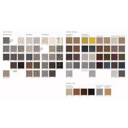 Farbpalette des Sofa Costura von STUA