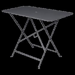 Wetterfester Tisch Bistro in 97cm x 57cm von Fermob in Anthrazit