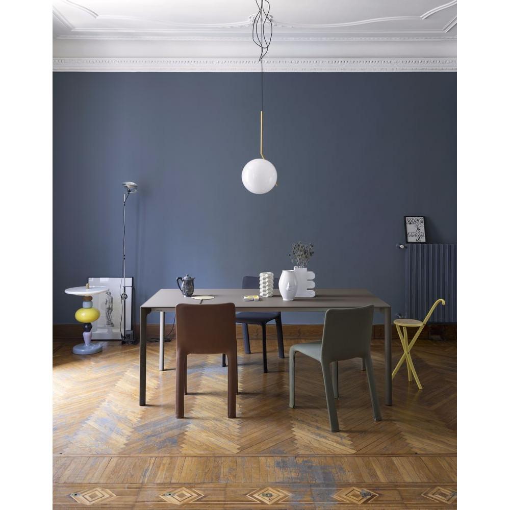 Ausziehbarer Tisch Maki von Kristalia mit 100cm Breite im Innenbereich