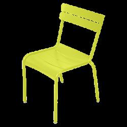Stapelbarer Stuhl Luxembourg aus Aluminium von Fermob in Eisenkraut