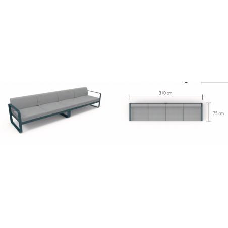 BASIC-Tischset-FermobTOG-Gewebe
