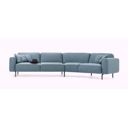 Ansicht des Sofa Melloo von Pode von vorne