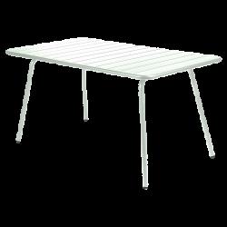 Wetterfester Tisch Luxembourg aus Aluminium von Fermob in Minze