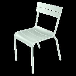 Stapelbarer Stuhl Luxembourg aus Aluminium von Fermob in Minze